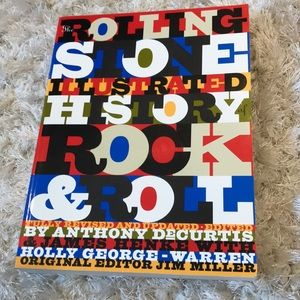 Rolling Stone History of Rock & Roll book